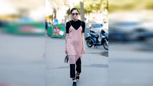 杨幂刘雯宠爱的黑T 一年四季都可以穿起来