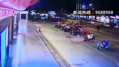 6岁女童掉进两米深窨井 巡防民警徒手施救