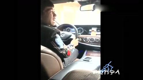 奔驰男子真是脑洞大开,自己研发360度全景倒车影像了!
