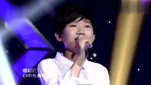 小男孩唱杨钰莹的歌,一开口全场都沉浸其中,太好听了