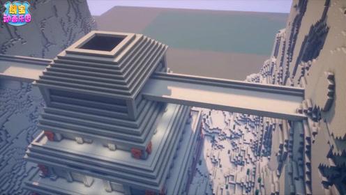 我的世界建筑大师 将沙漠神殿改造成超豪华神殿
