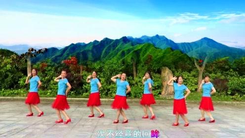 7月最俏皮可爱广场舞《想你想不够》动作简单有魔力