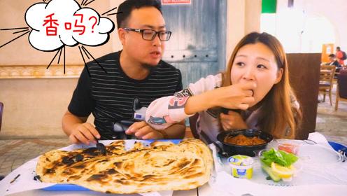 迪拜30元的美食套餐就一个主食一道菜,可一家人都吃不完!