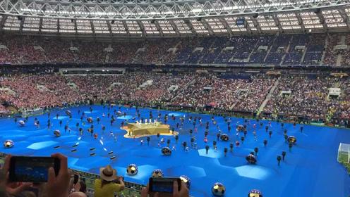 世界杯闭幕式,2018俄罗斯世界杯总决赛即将开踢,法国和克罗地亚