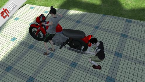 3D:不为销赃只为拉风!重庆5少年组团偷摩托