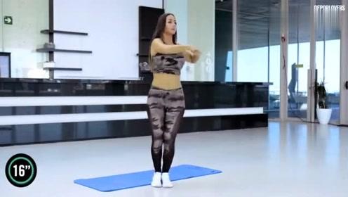 10分钟腹部训练,促进循环,燃掉皮下脂肪,办公间隙练起来