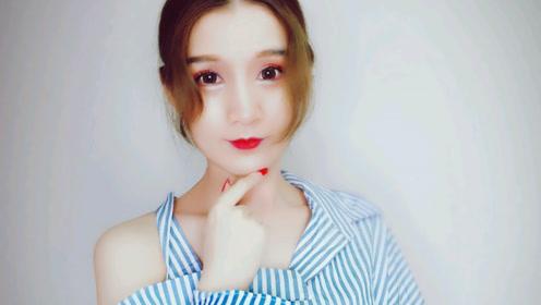 时尚主播|秋季醉人枫叶红美妆画法,听歌