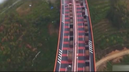 科技普及:中国这座桥是世界第一高桥,过往司机都不敢往下看