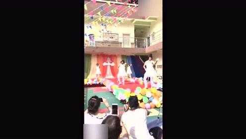 幼儿园要求爸爸们组织跳舞活动,没想到跳得太好看了!