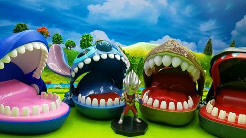 亲子制作动物牙齿手工