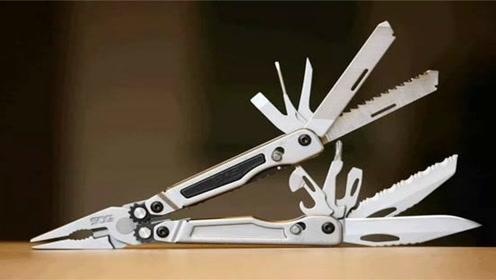 世界上最牛的钳子,随意切换19种功能,钢铁硬汉最爱!