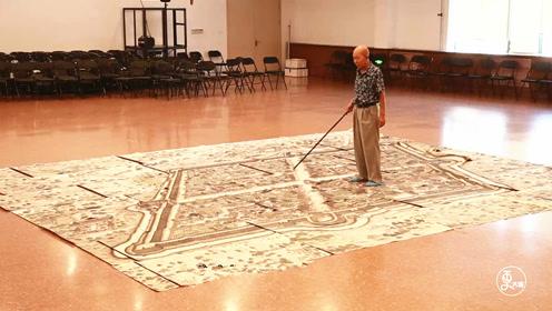 70岁大爷37年绘制大连版《清明上河图》,150米画卷重现古城繁华盛景