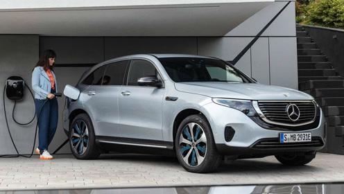奔驰首款纯电SUV:EQC发布!奥迪不远了,宝马还得再等等。