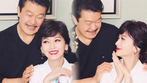 赵雅芝64岁生日晒夫妻恩爱照 这个动作暴露夫妻关系