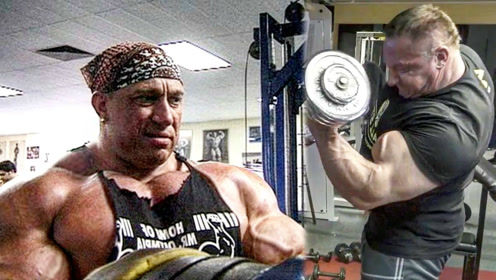 健美界的头号怪兽马库斯,块头无敌,肌肉帅到炸裂