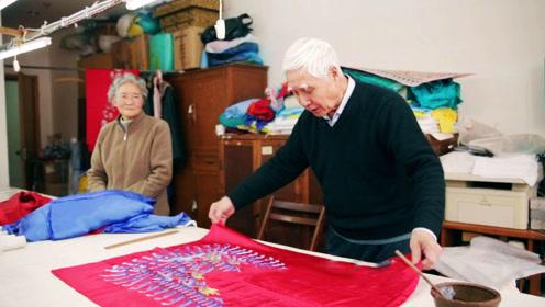上海最后的戏服裁缝,40多道工序制作精美绝伦,四大名旦都赞不绝口