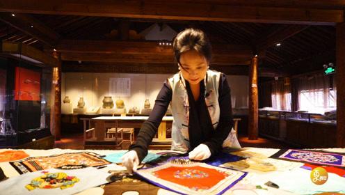 西安闹市区的神秘博物馆,藏着上千件古典肚兜,纹饰精美华丽诱惑