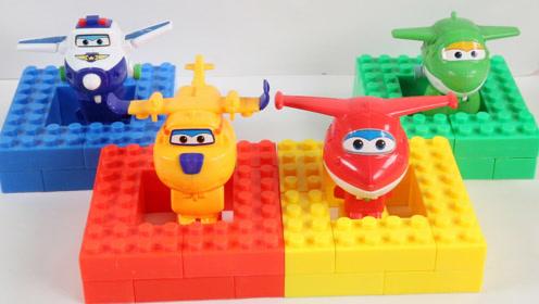 儿童趣味学习颜色,超级飞侠玩具积木大比拼,你最喜欢哪一个?