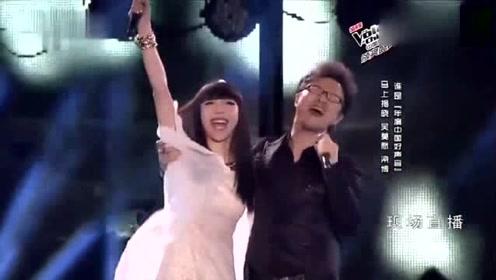汪峰在舞台上献唱《光明》,他的感染力太强了!