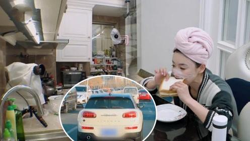 袁姗姗上真人秀曝光豪宅 谁注意节目中她开的车?