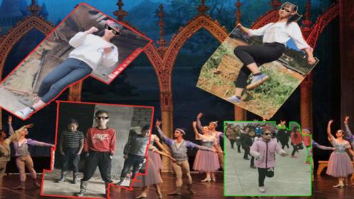 当来自农村的学生们跳起了俄舞,这架势简直秒杀城里人