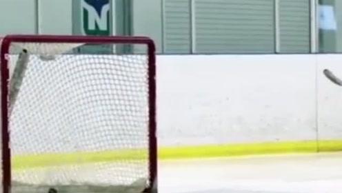 极限运动:这冰球水平很不错了