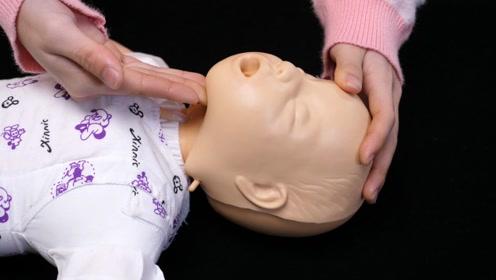 孩子被异物卡住喉咙怎么办?教你海姆立克急救法,关键时刻能救命