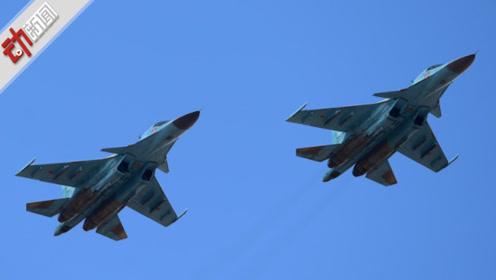 俄两架苏-34战机在日本海上空相撞 飞行员弹射跳伞逃生