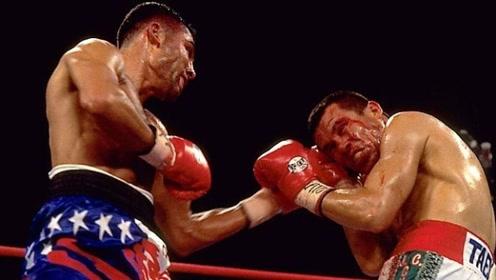 拳手被打到血染短裤满脸飙血!裁判再不叫停怕是得出人命