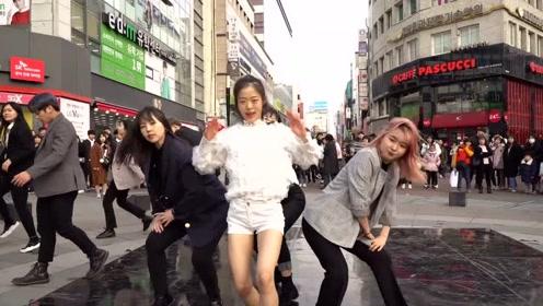 帅气舞团户外翻跳BTS, BLACKPINK 《AKE LOVE x DDU DU DDU DU》!