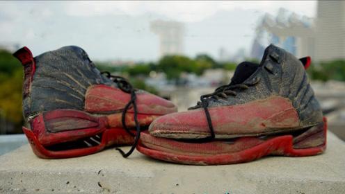 小伙捡到一双破鞋,重新改造之后,才知道什么是高手!