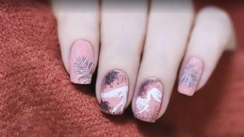 超可爱减龄侏罗纪美甲 软萌粉色款式必须有