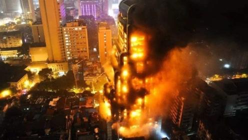 高楼火灾逃生,往上跑还是往下跑,记住这一点,关键时候能救命