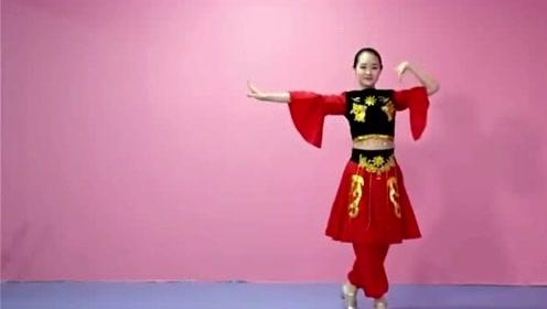 舞蹈练习视频《欢乐的跳吧》跟着老师多练几遍能成小小