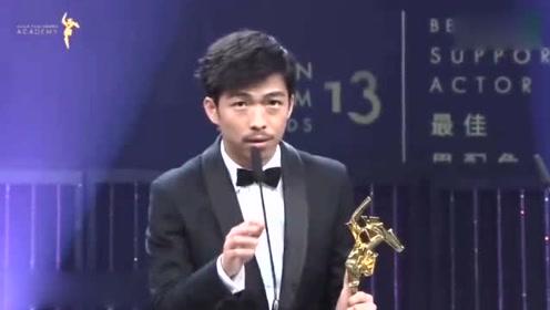 章宇凭《我不是药神》斩获亚洲电影大奖最佳男配 可他却说输得很惨