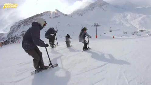 不看这条视频都不知道滑板车还能这样玩,太酷了!