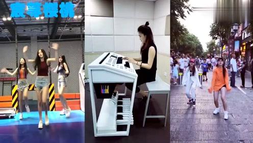 围观!网红小姐姐街头唱跳98K,网友:我姥爷偏说是广场舞!
