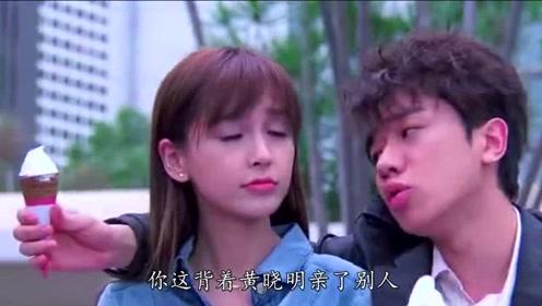 Baby背着黄晓明,吻了王祖蓝,网友:两人挺配的!