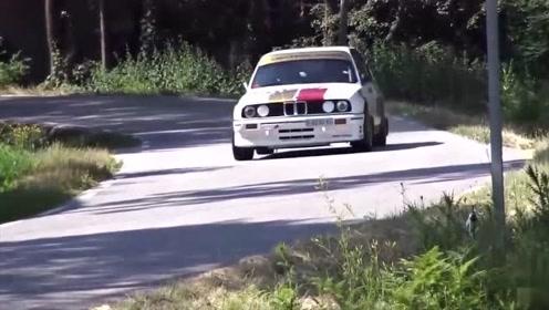 WRC:驾驶室视角感受一下拉力赛车有多快,一般人都看不清路