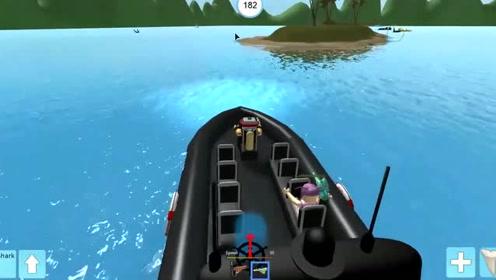 屌德斯解说:Roblox鲨鱼生存模拟器,这模拟器真是厉害了