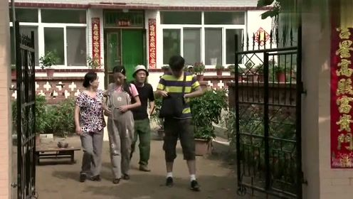 刘英去城里做产检,刘能要去送她,又着急上厕所,耽误了很多时间