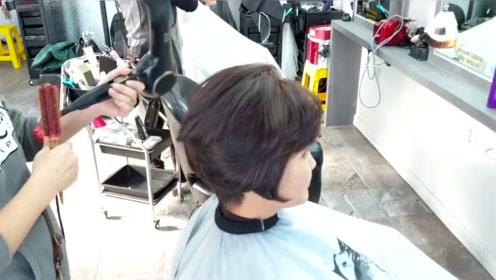 成熟气质短发,成型好看又唯美,这理发师真是有一双巧手呢