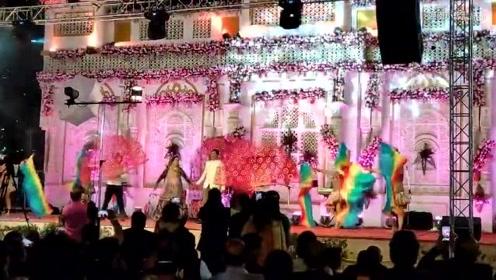 印度有钱人的婚礼竟然长这样?和国内比不相上下!