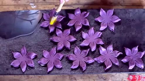 美食李子柒:诗一般的田园生活,妙手制巧酥,饼上细雕花,妙哉!
