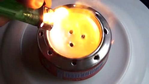 酒精炉怎么制作便宜又好用,小时候都玩过的小创意
