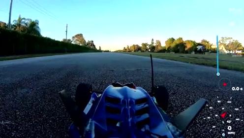 不可思议!改装电动遥控玩具车时速近200公里