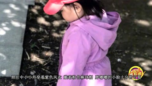 朱丹带女儿遛弯享受春天 画面温馨幸福惹人羡