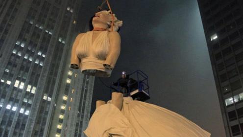 耗资500万建世界最美雕像,因细节过于逼真,却被强制拆除!