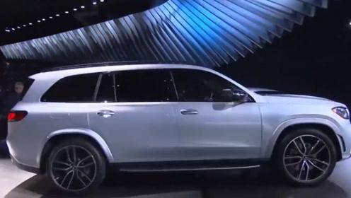 奔驰发布全新GLS,车身更修长,最高489马力,宝马X7这下尴尬了!