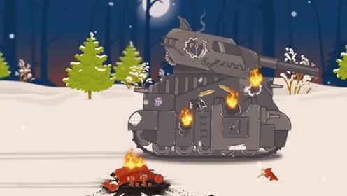 坦克世界:kv44对付利维坦两之间谁更加厉害呢?图片